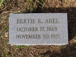 Roberta E Bertie <i>Davis</i> Abel