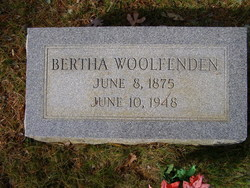 Bertha Woolfenden