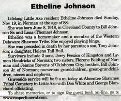 Etheline Johnson