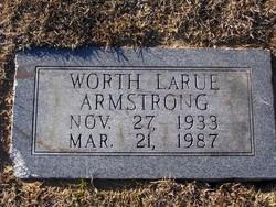 Worth Larue Armstrong