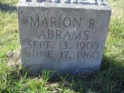Marion Robert Abrams