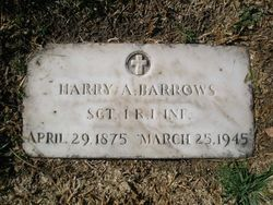 Sgt Henry A. Barrows