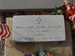 Corp William John W J Miller