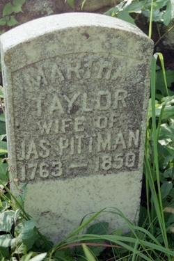 Martha Polly <i>Taylor</i> Pittman