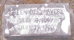 Green Bery Avery