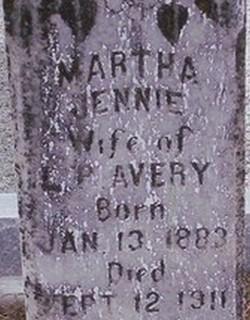 Martha Jennie Avery