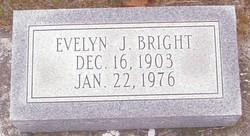 Evelyn <i>Jones</i> Bright