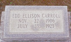 Edd Ellison Carroll