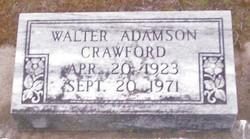 Walter Adamson Crawford