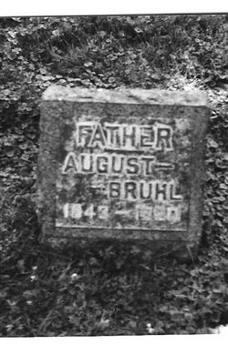 August Bruhl