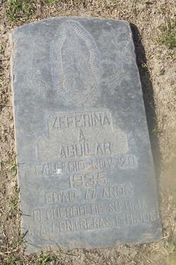 Zeferina A. Aguilar