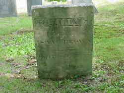 Sally Wife of Isaac Brown