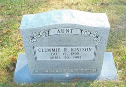Clemmie R. Kinison