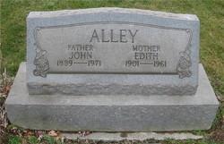 Mary Edith <i>Allison</i> Alley
