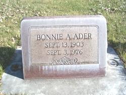 Bonnie Adell <i>Matheny</i> Ader