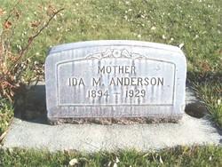 Ida May <i>Bergman</i> Anderson
