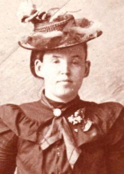 Cora Susan <i>Sebree</i> Davis