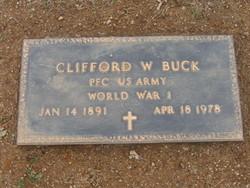 Clifford W Buck