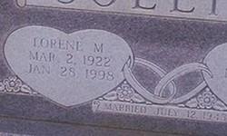 Lorene M. Collins