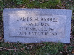 James Marshall Barbee