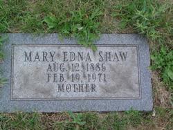 Mary Edna <i>McClelland</i> Shaw