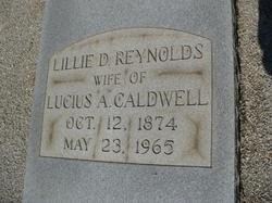 Lillie D. <i>Reynolds</i> Caldwell