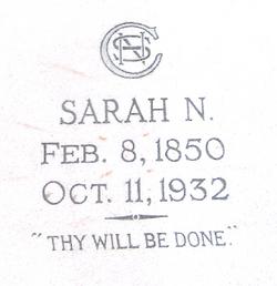 Sarah Nazra <i>Gandy</i> Conn