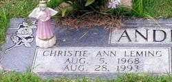 Christie Ann <i>Leming</i> Anderson