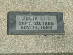 Julia <i>Burgamy</i> Lee