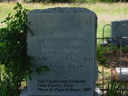 Frances Sofronia <i>Chandler</i> Baldwin