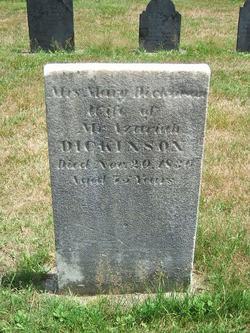 Mary <i>Eastman</i> Dickinson