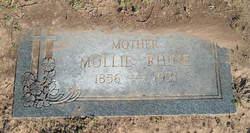 Mary Virginia Mollie <i>Hooe</i> Rhine