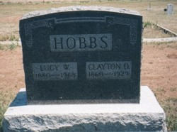 Lucy Wilson <i>Williams</i> Hobbs