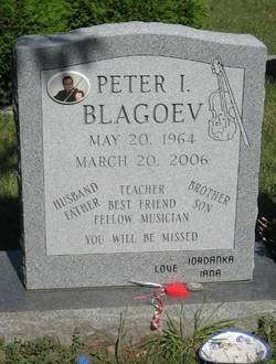 Peter I. Blagoev