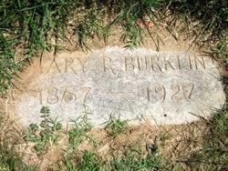 Mary Maimie <i>Roche</i> Burklin
