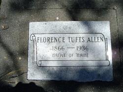 Florence <i>Tufts</i> Allen