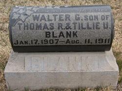 Walter G. Blank