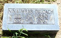 Nina <i>Webb</i> DeLoach