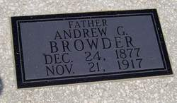 Andrew Gowin Browder