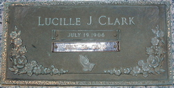 Lucile <i>Jackson</i> Clark
