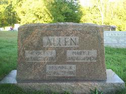 Mary Lavina <i>Coulter</i> Allen