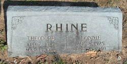 Theodore Rhine