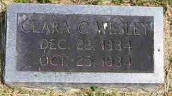 Clara Cleveland <i>Hatter</i> Wesley