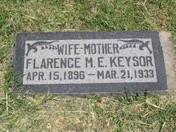 Flarence Maria <i>Evans</i> Keysor