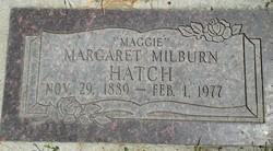 Margaret Milburn Hatch