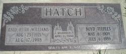 Enid Ruth <i>Williams</i> Hatch