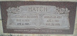 Ella Elizabeth <i>Meadows</i> Hatch