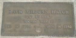 David Milburn Fats Hatch