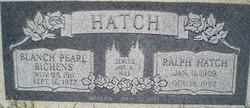 Blanch Pearl <i>Richens</i> Hatch