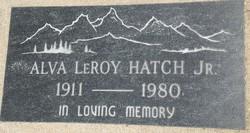 Alva Leroy Hatch, Jr